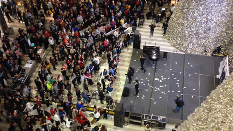 Man Cited After Tossing $1,000 Into MOA Rotunda - CBS Minnesota | It's Show Prep for Radio | Scoop.it