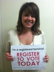 REGISTER TO VOTE! It's not too late…YET! | Coffee Party Feminists | Scoop.it