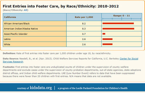 Focus on the Figures: First Entries into Foster Care, by Race   DC Council Human Services   Scoop.it