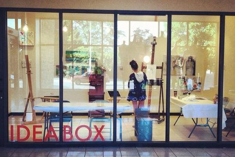 Idea Box draws community to public library | Evolving Library | Scoop.it