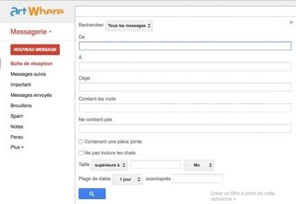 La recherche avancée dans Gmail | Freewares | Scoop.it