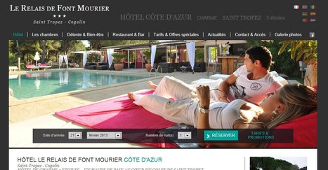 Hotel Saint-Tropez - Site Officiel -Le Relais de Font Mourier *** à Cogolin – Site Officiel | Selection d'hôtels en france | Scoop.it
