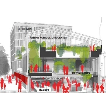 13,000-square-foot green roof 'urban farm' proposed for Boston — City Farmer News | Community Support Agriculture | Scoop.it