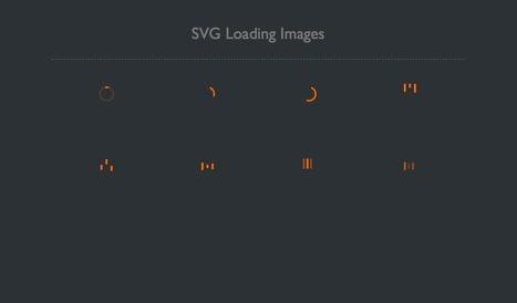 SVG Loading icons | js bucket | Scoop.it