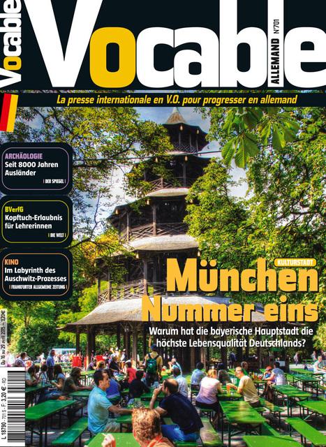 Le magazine Vocable pour progresser en allemand | Revue de presse | Scoop.it