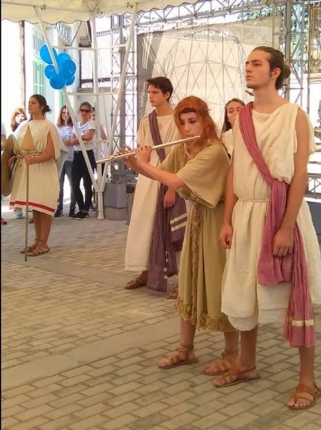 Η Ελληνογαλλική Σχολή Ευγένιος Ντελακρουά στην Ευρωπαϊκή ημέρα Γλωσσών...   TA NEA TOY LFH   Scoop.it