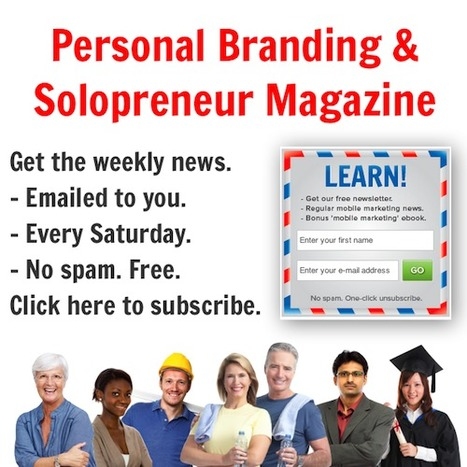 Free weekly newsletter. Personal branding tips. Click here to subscribe. | Blend-Ed | Scoop.it