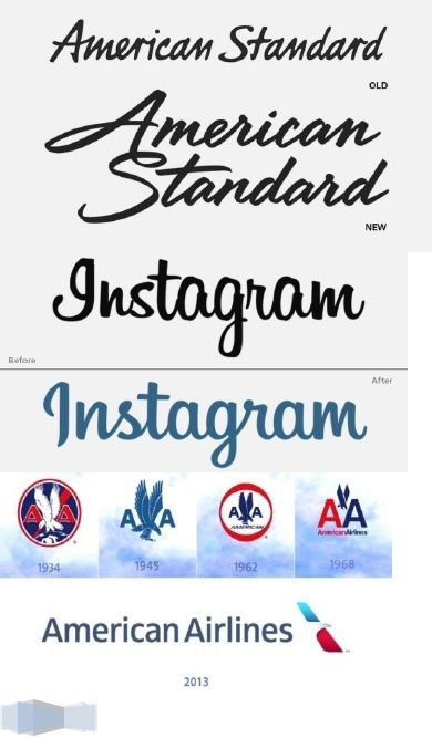 5 Successful Logo Re-designs: Redefining a Brand | Inspired By Design | Scoop.it