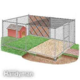 How to Build a Chain Link Kennel for Your Dog | Inchalam | Scoop.it