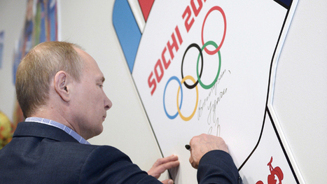 Putin on Sochi: I would very much like sports not to be marred by politics | Saif al Islam | Scoop.it
