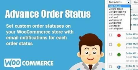 WooCommerce Advance Order Status   Download Free WordPress Theme, WordPress Plugin and Full Scripts.   WooCommerce Advance Order Status   Scoop.it