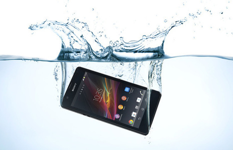 Sony Xperia ZR waterproof smartphone | urdesign magazine | Actualité IT & Innovation | Scoop.it