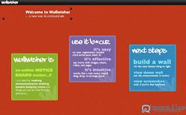 Wallwisher : un service en ligne pour créer facilement un mur de travail collaboratif | Time to Learn | Scoop.it