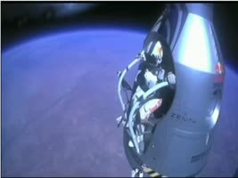 Felix Baumgartner's free fall from the edge of space. | Anthropology and Archaeology | Scoop.it