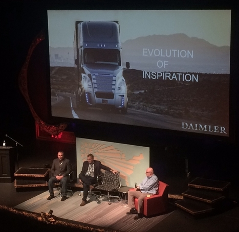 TechFestNW: Daimler Executives Say They Made Self-Driving Trucks to Help Truckers | Truckeditions | Scoop.it