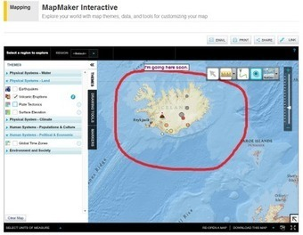 Free Technology for Teachers: Create Thematic Maps With the National Geographic Map Maker | Spatial in Schools | Scoop.it