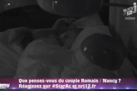Vidéo : Nancy et Romain (Star Academy 9) ensemble sous la couette ! | Radio Plan&egr