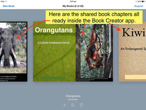 From Book Creator to printed book - Book Creator app | Blog | iPads and Other Tablets in Education | Scoop.it