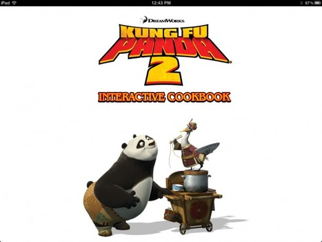 iPhone/iPad Book App Review Kung Fu Panda 2 Interactive Cookbook | Publishing Digital Book Apps for Kids | Scoop.it