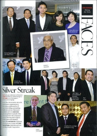 Maxicare SILVER Anniversary as featured in Philippine Tatler ... | Maxicare Phiippines | Scoop.it