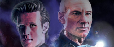 STAR TREK/DOCTOR WHO Crossover in May from IDW | Comic Books | Scoop.it