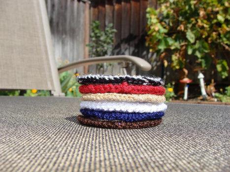 Bracelets - Toddler Size Crocheted Bracelets   bracelets   Scoop.it