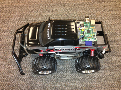 Remote Controlling a Car over the Web. Ingredients: Smartphone, WebSocket, and Raspberry Pi.   Arduino&Raspberry Pi Projects   Scoop.it