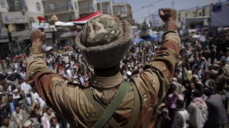 Yemen's leader battens down the hatches as defections mount | Coveting Freedom | Scoop.it