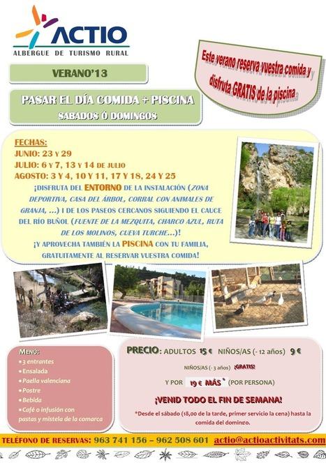 EN VERANO COMIDA + PISCINA - Actio Activitats | Turismo de Naturaleza, en familia | Scoop.it