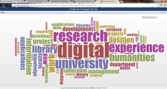 Text analysis of 2012 Digital Humanities Job Adverts « Electric ... | The Digital Turn | Scoop.it