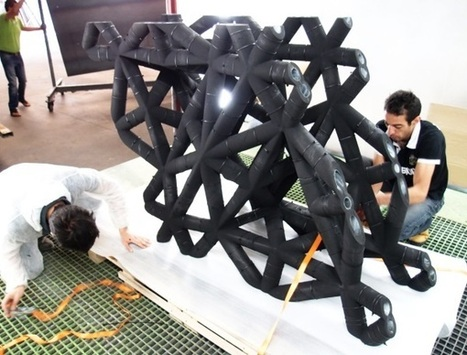 3ders.org - Architect, voxeljet create ultra-high performance concrete using 3D printing | 3D Printer News & 3D Printing News | arslog | Scoop.it