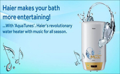 Sing and dance to the tune while on a shower | Technology | Scoop.it