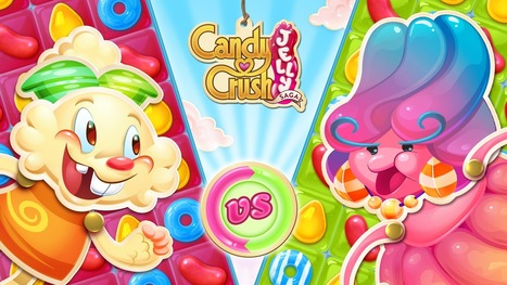 Candy Crush Jelly Saga Mobile Gaming App Review | AroundtheWeb | Scoop.it