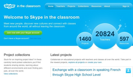 Welcome to Skype in the classroom | Skype Education | Changes in Technology | Scoop.it