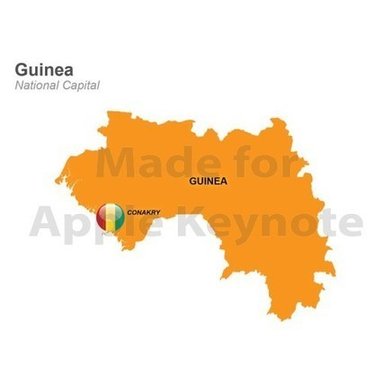 Guinea Map - Editable Keynote Mac Images | Apple Keynote Slides For Sale | Scoop.it