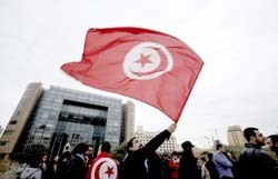 The Daily Star - Lebanon News - Crowds show their support for Tunisia's 'Jasmine Revolution' | Coveting Freedom | Scoop.it