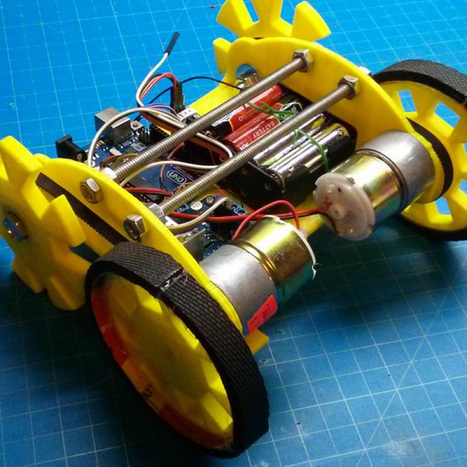 A Robot In A Day | Raspberry Pi | Scoop.it