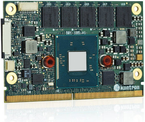 Kontron SMARC-sXBTi is a SMARC Module Powered by Intel Atom E3800 Series SoC | Embedded Software | Scoop.it