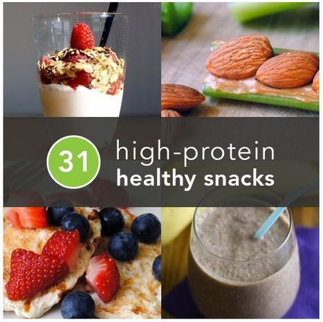 31 Healthy and Protein Rich Snacks to eat | tasos1 | Scoop.it