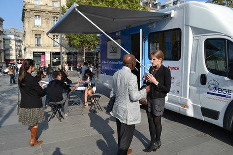 Le Bus de la création d'entreprise prend place à République   Passion Entreprendre   Scoop.it