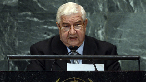Syrian FM to UN: 'Terrorists from 83 countries fighting in Syria' | Saif al Islam | Scoop.it