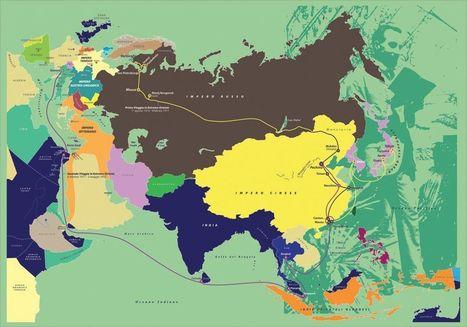 I viaggi di Salvatore Besso: una mappa storica personalizzata - Limes | mappe storiche | Scoop.it