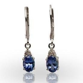 Oval Tanzanite Earring | Tanzanite Earrings | Scoop.it