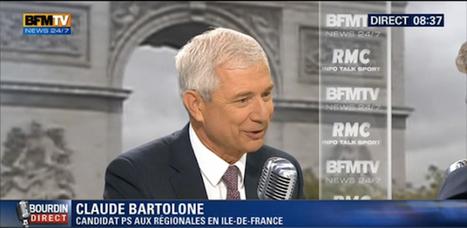 L'invité de Jean-Jacques Bourdin sur RMC / BFM TV | Site de Claude Bartolone | Actualité de la politique française | Scoop.it