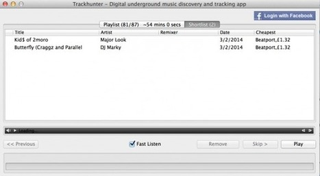Review: Trackhunter Music Discovery App - Digital DJ Tips | GEARS, TECH & METHOD | Scoop.it
