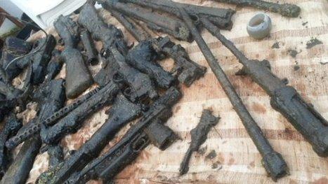 Guns cache found in Somerset river | DiverSync | Scoop.it