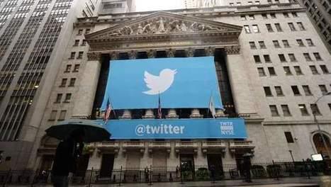 Twitter démarre en trombe à la Bourse de New York | Réseaux sociaux au quotidien | Scoop.it
