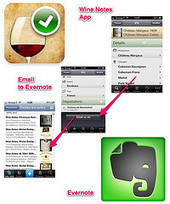 Sauvegarder ses notes sur le vin sur Evernote via l'application Wine Notes | Winegate | Scoop.it