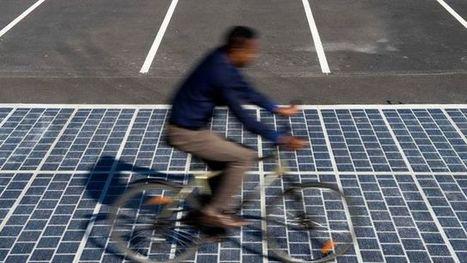 Routes solaires en France: 1 km de voirie pourrait éclairer 5000 personnes | Développement durable et efficacité énergétique | Scoop.it