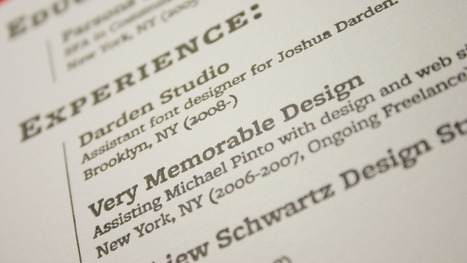 4 Tips to Make Your #Resume Stand Out | Effective Resumes | Scoop.it